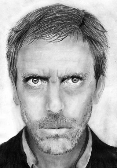 Hugh Laurie by HelenaFan